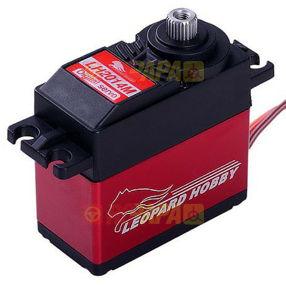 Leopard Hobby LH2014M Digital High Voltage Titanium Gear Brushless Servo - RC Papa