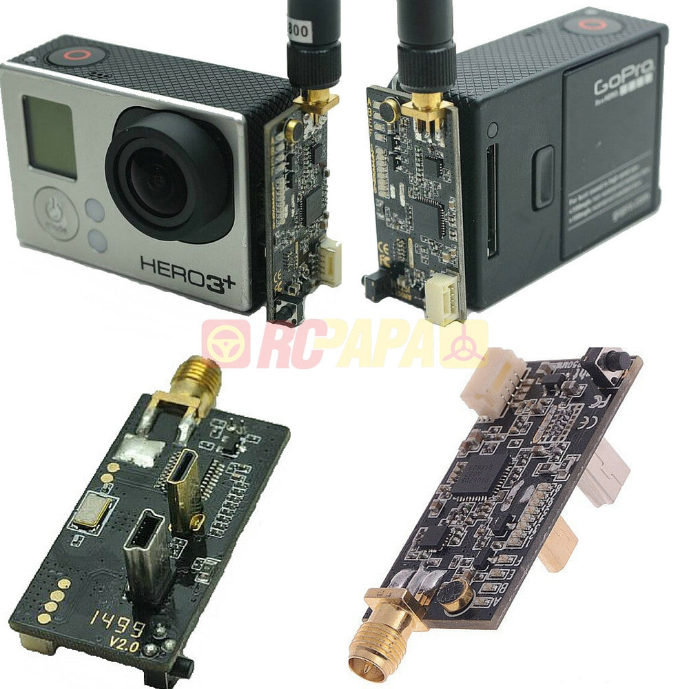 Light L250 5.8G 250mW 32ch VTX FPV Video Transmitter for GoPro - RC Papa