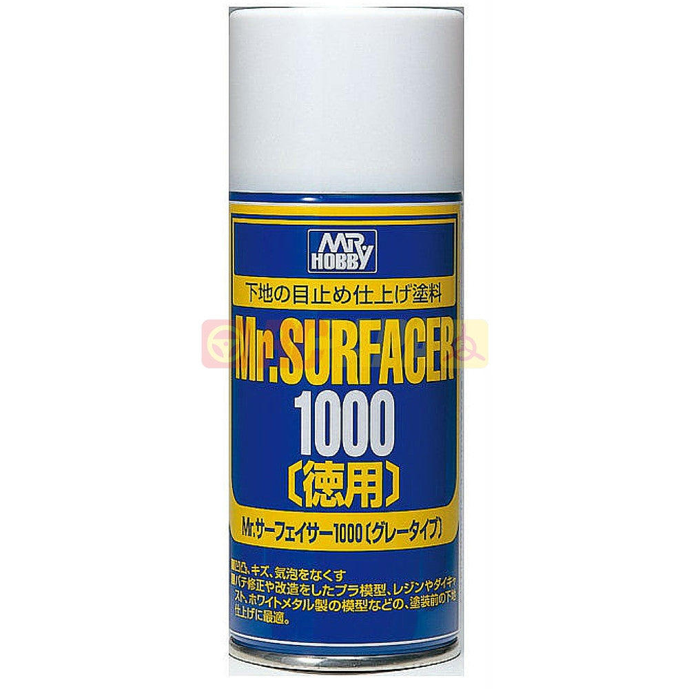 Mr. Hobby Mr. Surfacer 1000 Deluxe Spray 170ml B519 - RC Papa