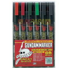 Mr. Hobby Gundam Marker Pen (Zeon Color) GMS108 - RC Papa