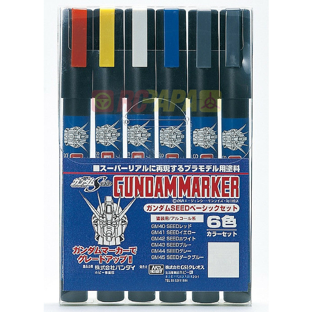 Mr. Hobby Gundam Marker Pen (Seed Color) GMS109 - RC Papa