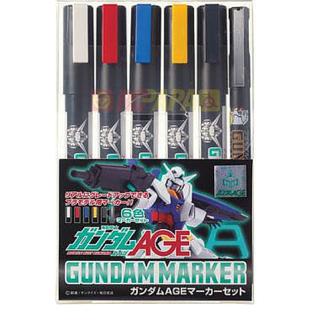 Mr. Hobby Gundam Marker Pen (Age Color) GMS120 - RC Papa