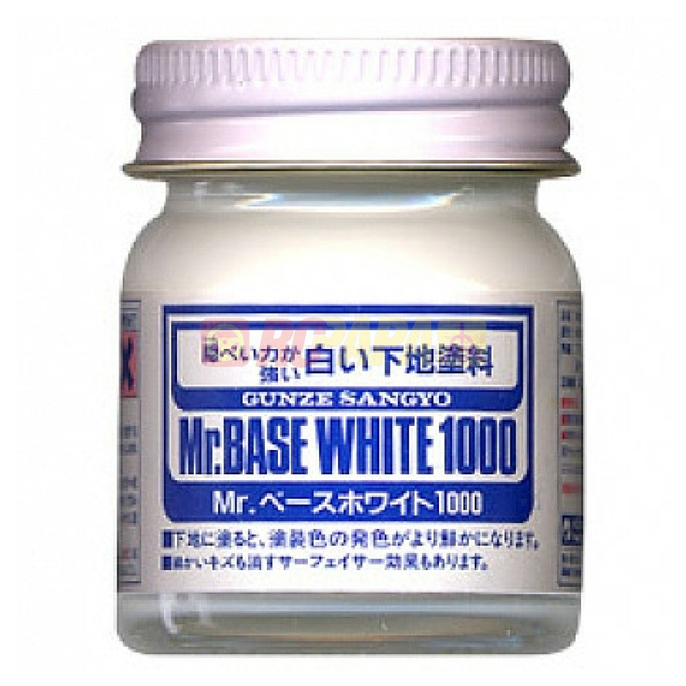 Mr. Hobby Mr. Base White 1000 40ml SF283 - RC Papa