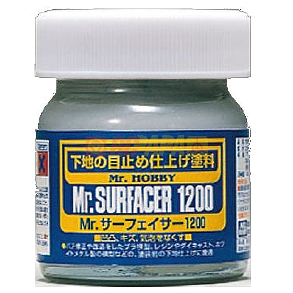 Mr. Hobby Mr. Surfacer 1200 40ml SF286 - RC Papa