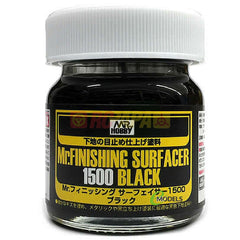 Mr. Hobby Mr. Finishing Surfacer 1500 Black 40ml SF288 - RC Papa