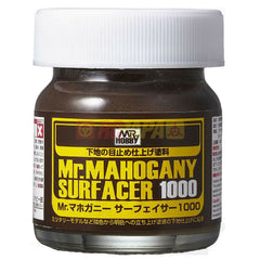 Mr. Hobby Mr. Mahogany Surfacer (Dark Brown) 1000 40ml SF290 - RC Papa