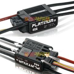 Hobbywing Platinum 40A V4 Brushless Electronic Speed Controller ESC - RC Papa