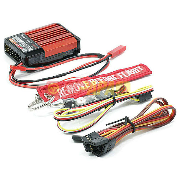 SkyRC Dual Power Voltage Regulator for Extreme 3D Flying