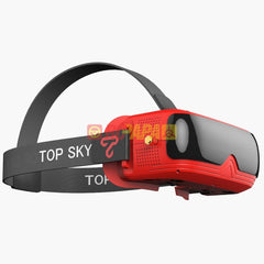 TopSky Prime II 5.8G 48CH FPV Goggle (Diversity Receiver Built-In Replaceable Battery DVR)