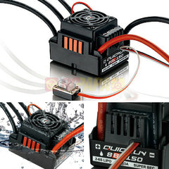 Hobbywing Quicrun Waterproof Brushless Motor ESC 8BL150 150A for 1/8 RC - RC Papa