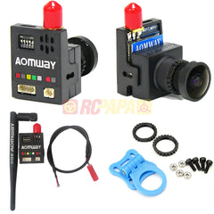 Aomway 700TVL 200mW 5.8G 32CH HD CMOS Mini FPV Camera - RC Papa