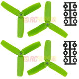 "HQ 4"" 4x4x3 Tri-Blade Glass Fiber Propellers - RC Papa - 2"