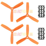 "HQ 5"" 5x4.5x3 Tri-Blade Glass Fiber Propellers - RC Papa - 1"