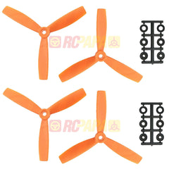 "HQ 5"" 5x4.5x3 Tri-Blade Glass Fiber Propellers - RC Papa"