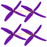 "HQ 5"" 5x4x4 Quad-Blade Glass Fiber Propellers - RC Papa"