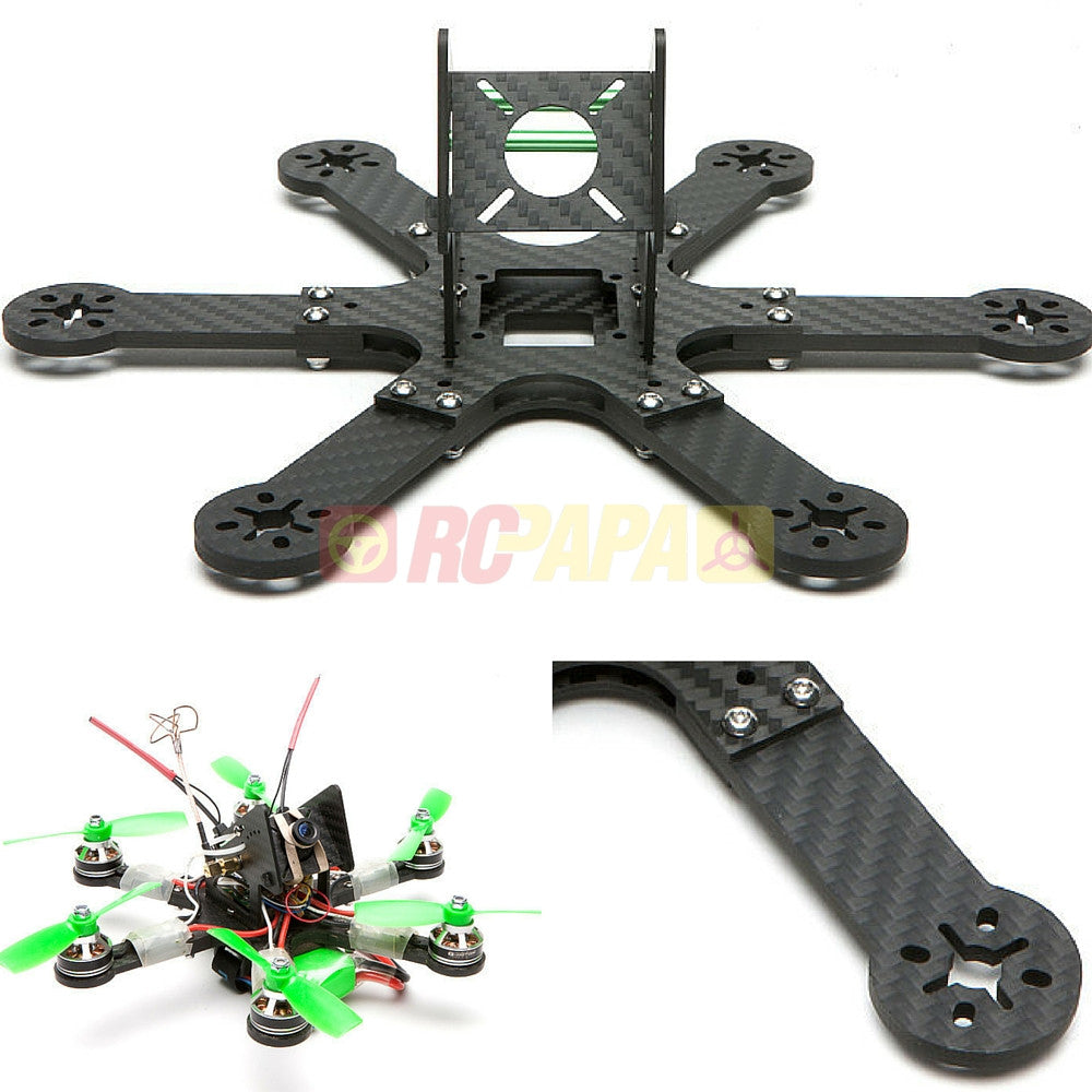"ShenDrones Kriegerpus Mini FPV Hex Carbon Fiber Frame (4"" version) - RC Papa"