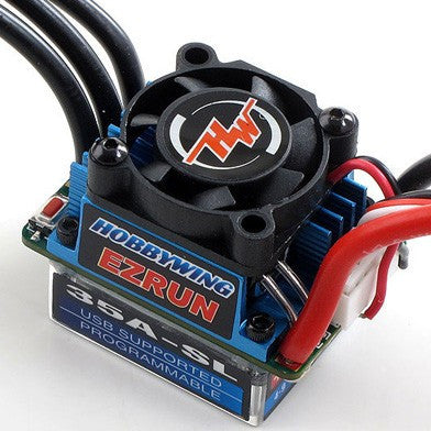 Hobbywing EZRUN 35A Brushless ESC for 1/10 1/12 RC - RC Papa