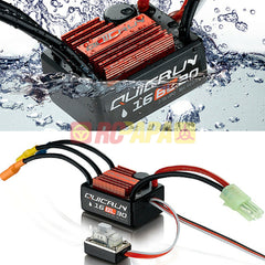 Hobbywing Quicrun Waterproof Brushless ESC 30A 16BL30 for 1/16 1/18 RC - RC Papa