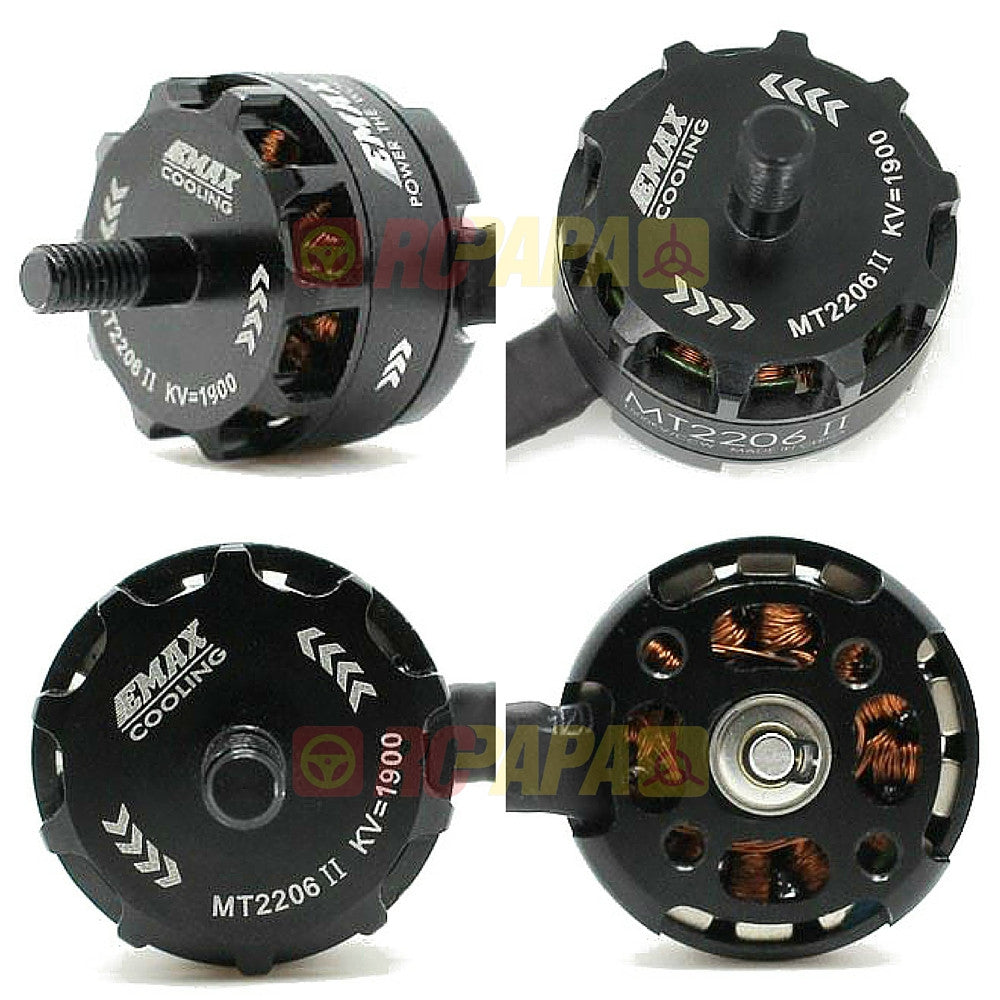 Emax MT2206Ⅱ 1900KV Cooling Brushless Motor for Quadcopter QAV250 - RC Papa