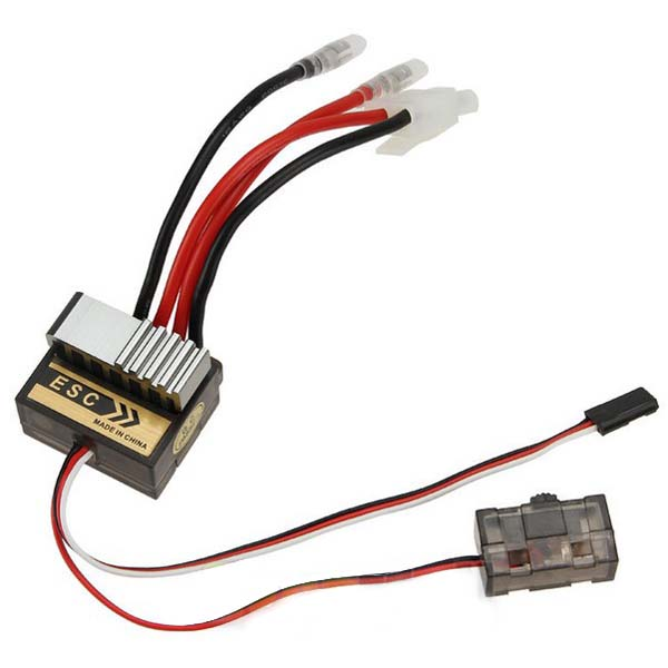 320A ESC Brushed Speed Controller for RC Car Truck Boat Reverse 1/8 1/10 - RC Papa