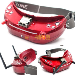 Skyzone SKY03 3D 5.8G 48CH FPV Goggle (Red Edition)