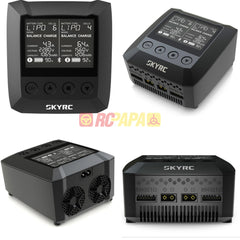 SkyRC B6 Nano Duo 2x100W 15A Smart Battery Charger Discharger Support SkyCharger App - RC Papa