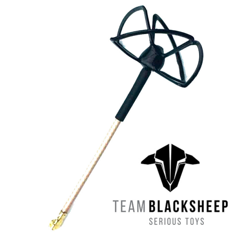 TBS Team BlackSheep Cloverleaf 5Ghz U.FL Antenna - RC Papa
