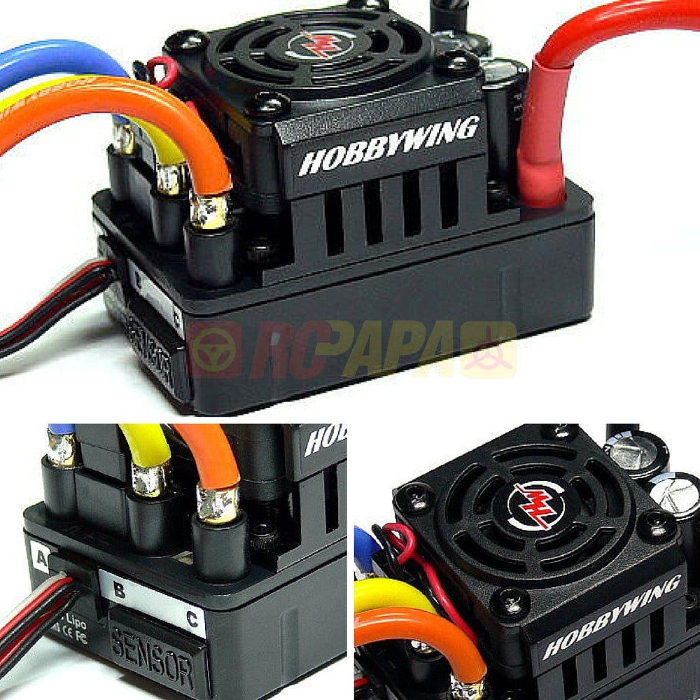 Hobbywing XERUN SCT Pro 120A Brushless Sensored ESC for 1/10 Short Course RC - RC Papa