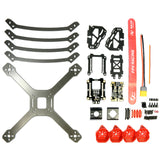 DALRC XR220 Carbon Fiber FPV Racing Quad Frame Kit - RC Papa