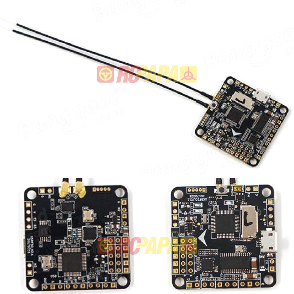 FrSky XSRF3O OSD Flight Controller Integrate with FrSky XSR Receiver - RC Papa