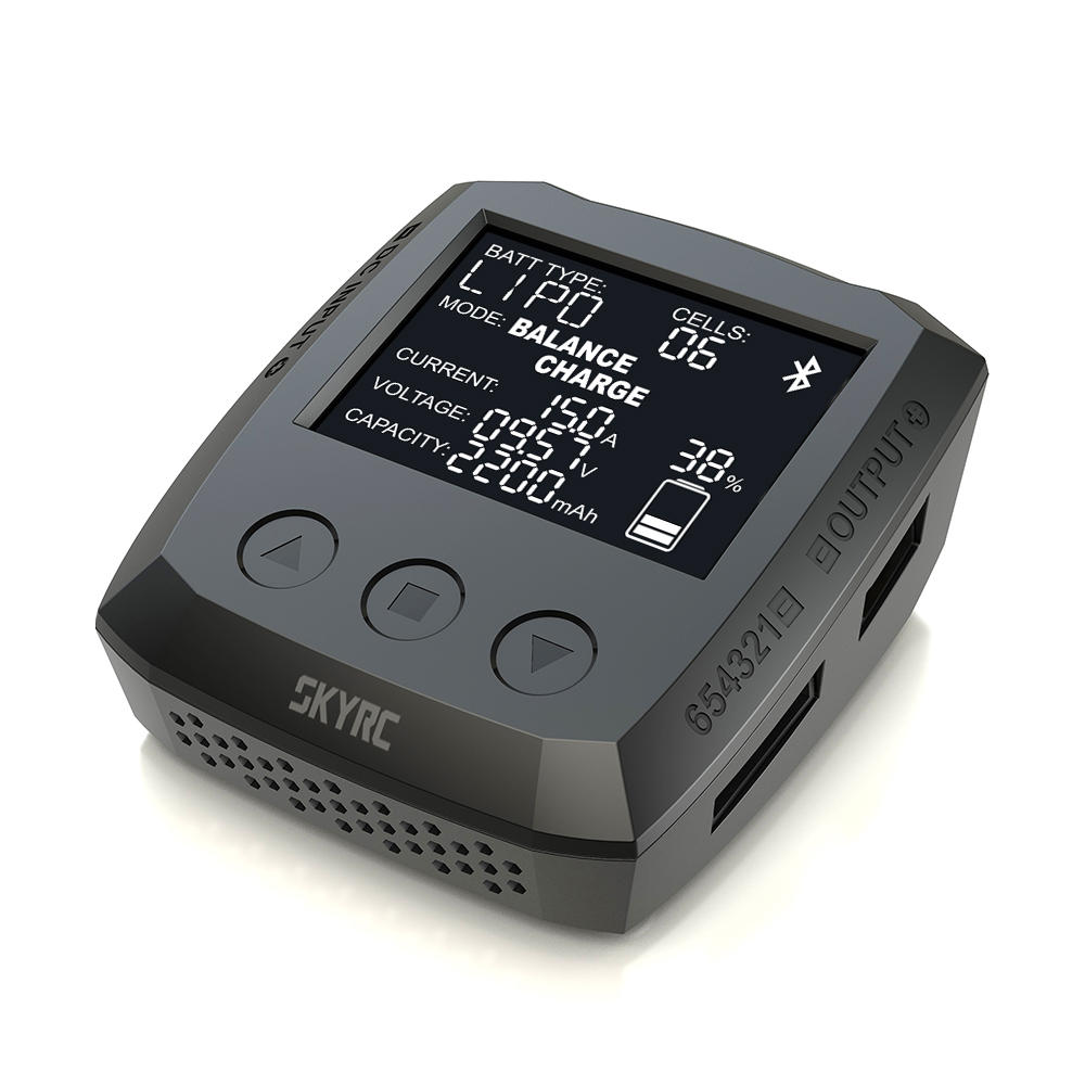 SkyRC B6 Nano 320W 15A DC Smart Battery Charger Discharger Support SkyCharger App - RC Papa