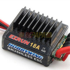 Hobbywing EZRUN 18A Sensorless Brushless ESC for 1/18 1/16 RC - RC Papa