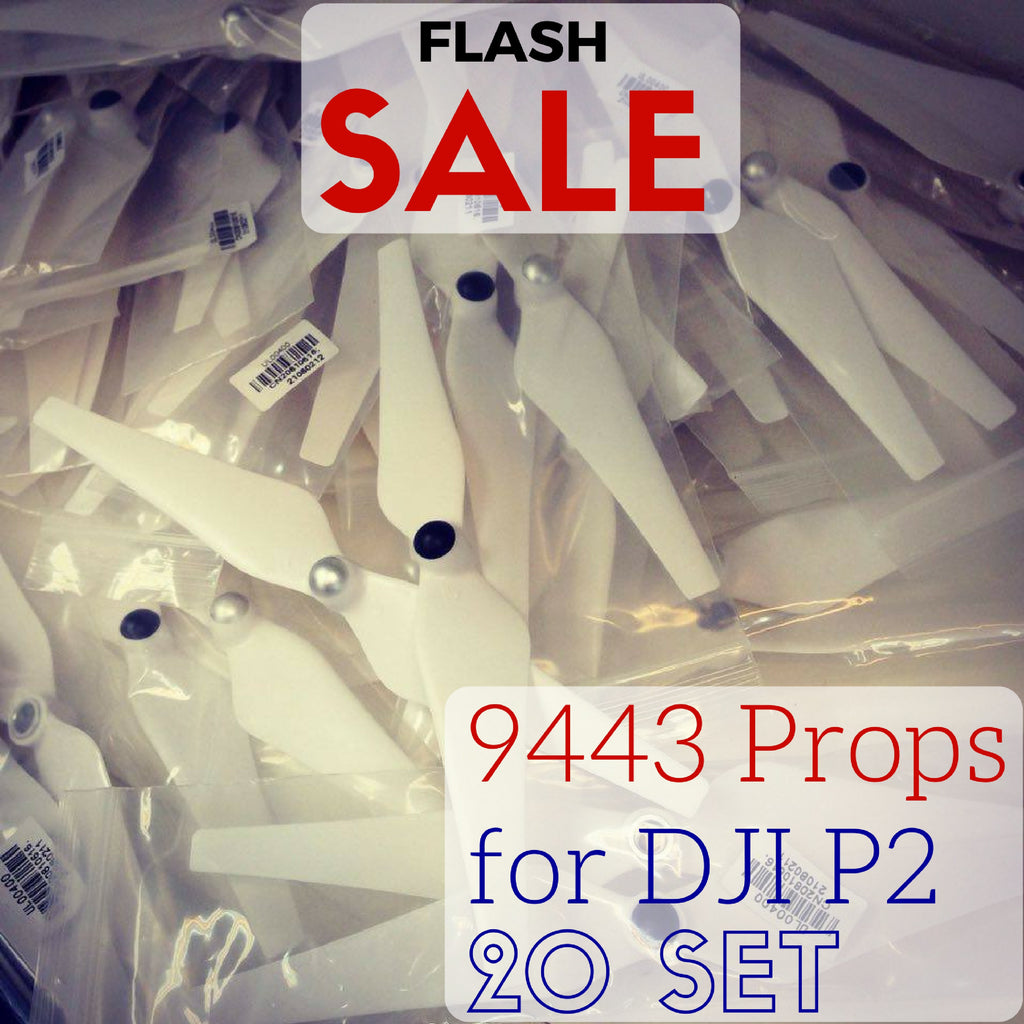 20 Set 9443 Self Tightening Thrust Boosted Propellers for DJI Phantom 2
