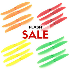 10 Set Gemfan 5030 ABS Propellers (Green/Yellow/Red/Orange)