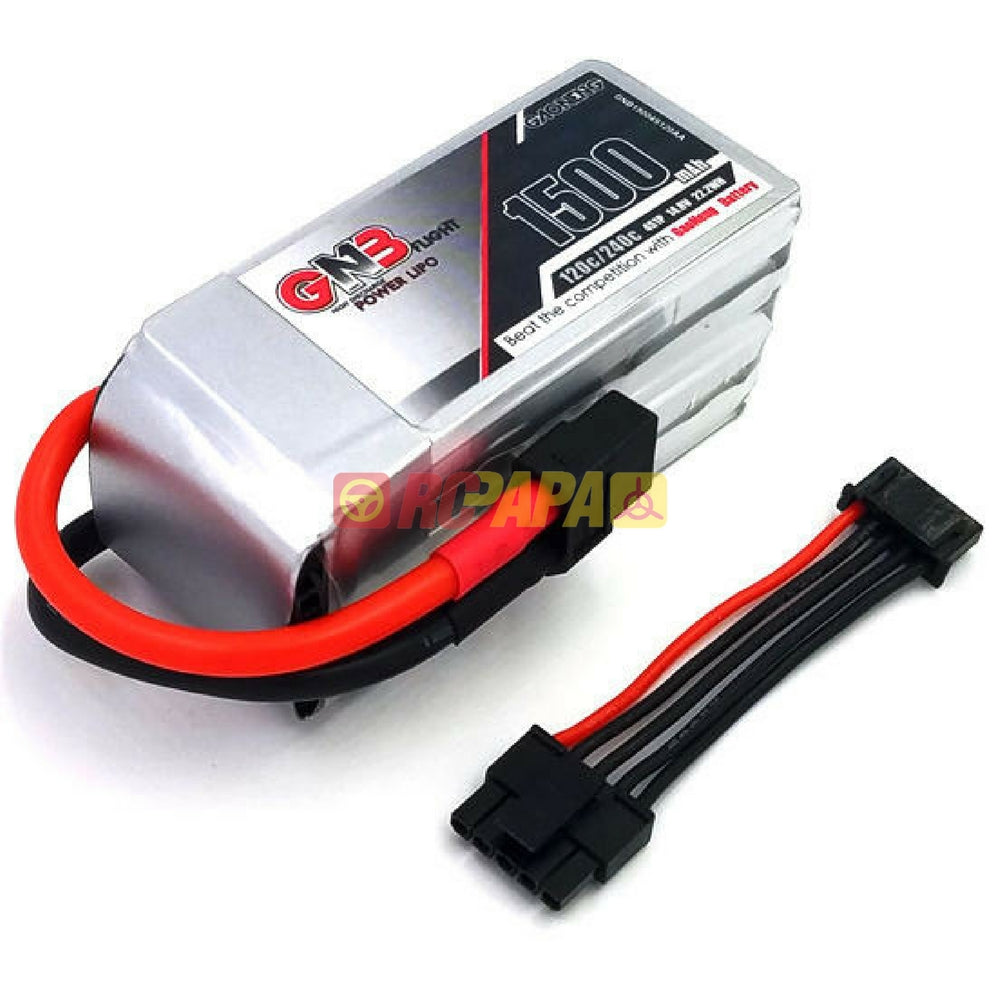 Gaoneng GNB 4S 1500mah 120C/240C 14.8v Lipo Battery with Balance Wire - RC Papa