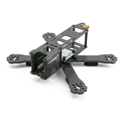 "Lumenier Carbon Fiber RaceBlade QAV-R FPV Racing Quadcopter Frame Kit (4"") with X Bottom Brace - RC Papa"