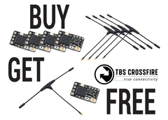 TBS Team BlackSheep CrossFire Nano RX SE (Buy 4 Get 1 Free) - RC Papa