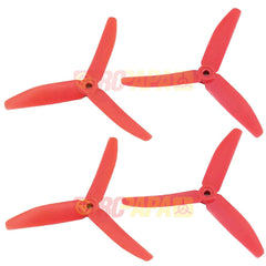 "HQ 5"" 5x4x3 Tri-Blade Glass Fiber Propellers (Pink, for Cancer Fundraising) - RC Papa - 1"