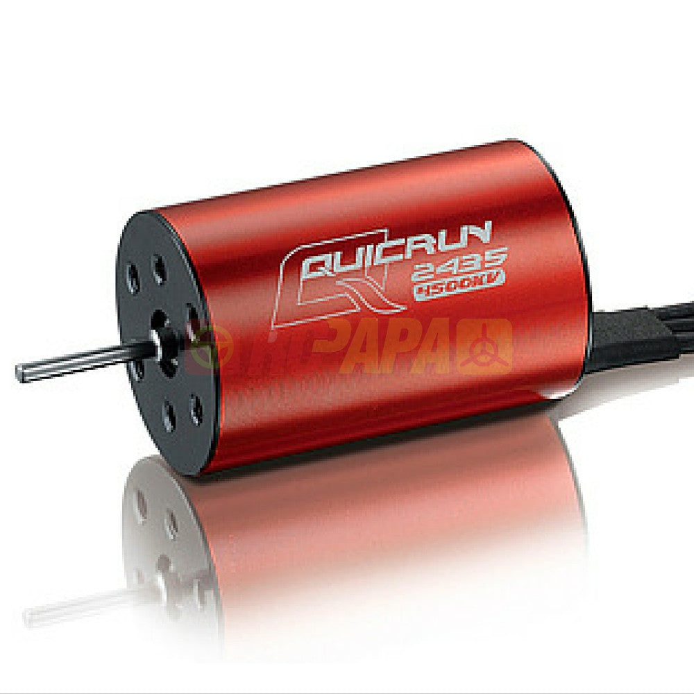 Hobbywing Quicrun 2435 4500kv Motor for 1/16 RC - RC Papa