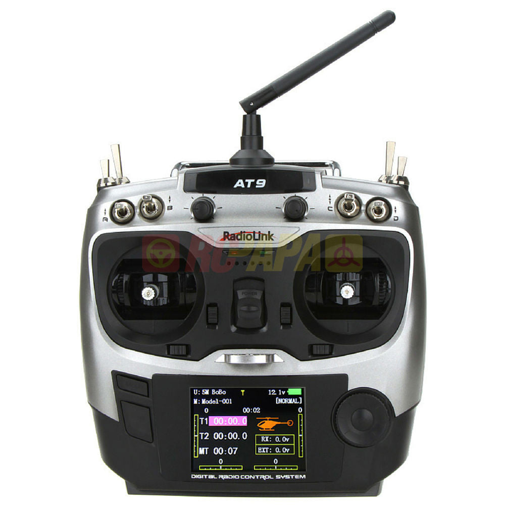 RadioLink AT9 2.4G 9ch Transmitter Receiver - RC Papa