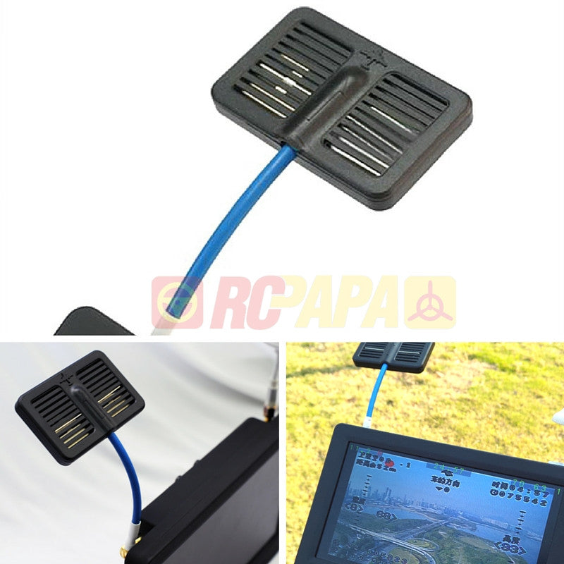 5.8G 12dbi Video Antenna Panel Receiver for Dual Input FPV Monitor - RC Papa - 1