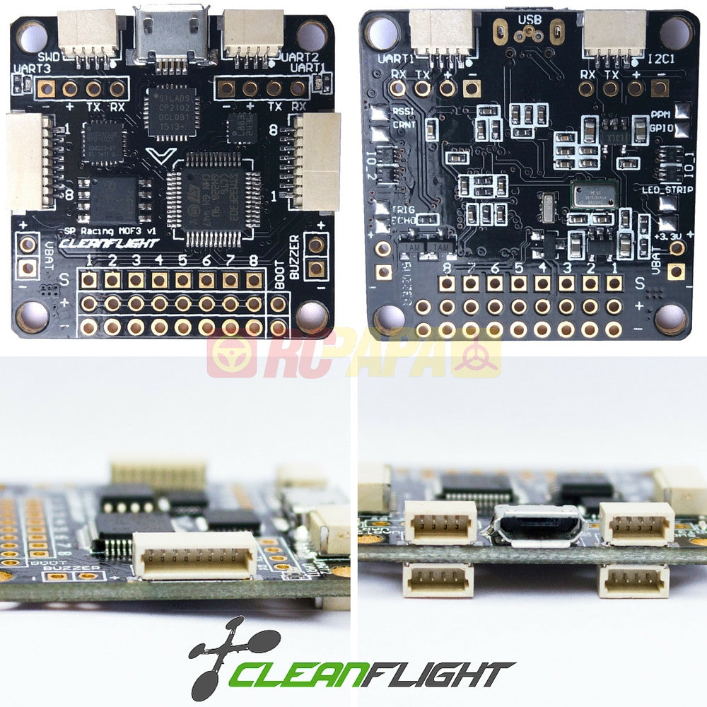 Seriously Pro SPRacingF3 Cleanflight Flight Controller - RC Papa