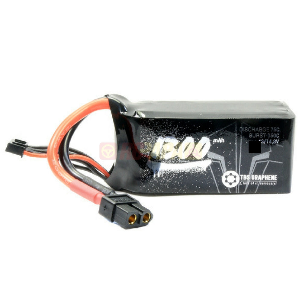 TBS Team BlackSheep Graphene 1300mAh 6S 75C 22.2V LiPo Battery - RC Papa