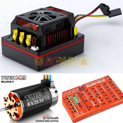 SkyRC Toro 8 150A X8 Brushless Combo for 1/8 Buggy - RC Papa