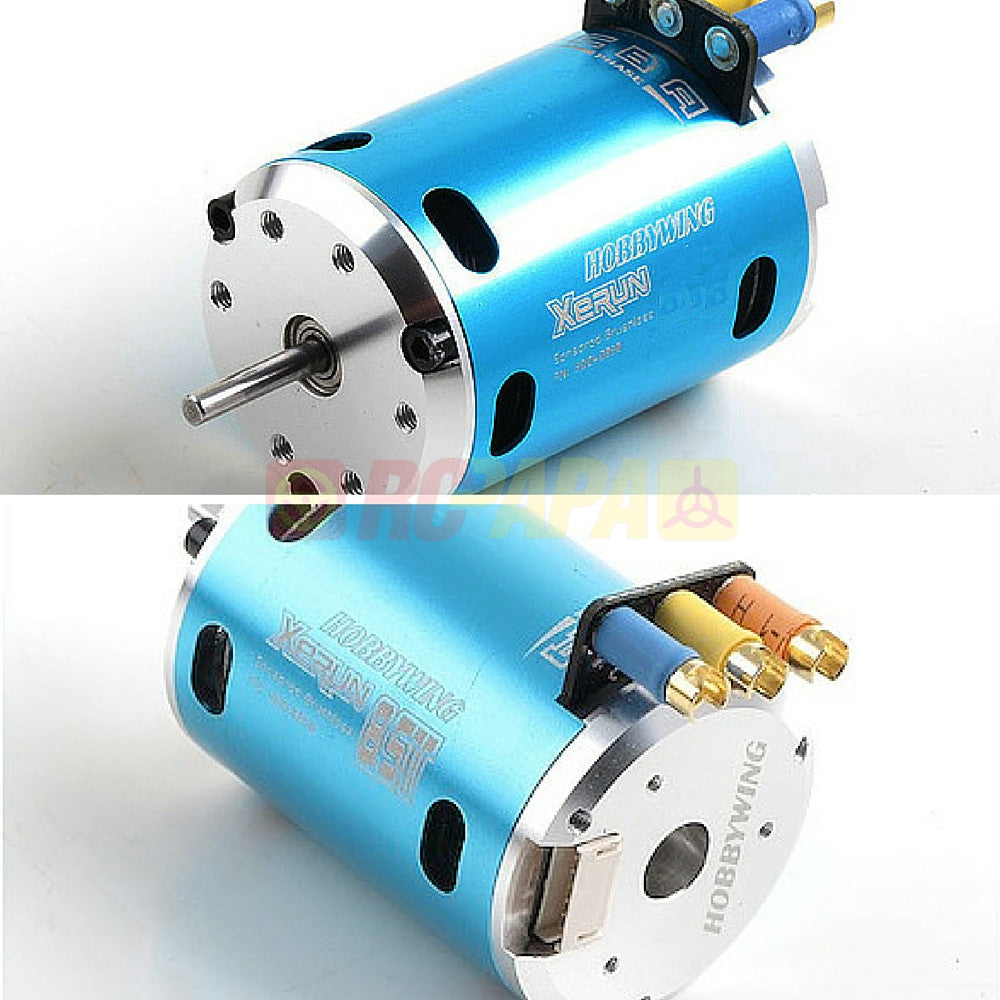 Hobbywing XERUN Sensored Brushless Motor for 1/10 1/12 RC Competition - RC Papa