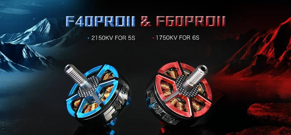 Emax RS2205S 2300/2600kv Race Spec FPV Motor Cooling Series