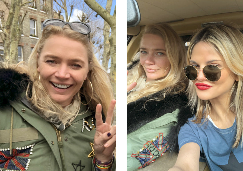 Jodie Kidd & Mimi Holliday Luxus Designer Dessous