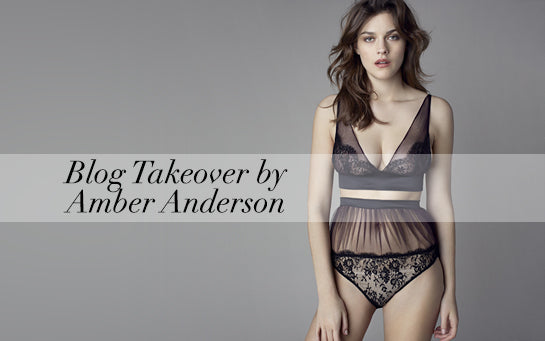 Mimi Holliday | Amber Anderson | Damaris | Luxe Lingerie | Designer Lingerie