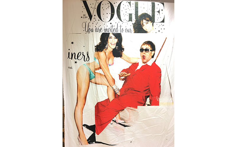 Elton John | Elizabeth Hurley in Dessous | Vogue | Die Royals TV Show | Vogue Zeitschrift