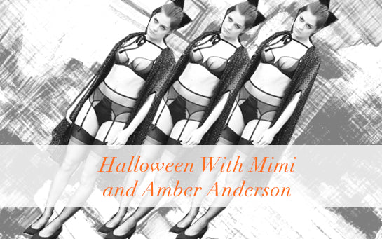 Mimi Holliday | Halloween | Luxus Dessous | Dessous | Amber Anderson